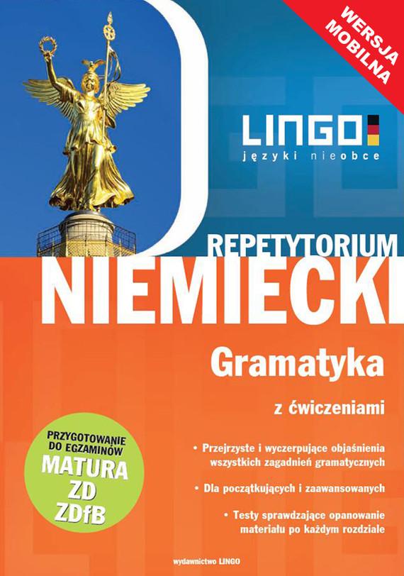 okładka Niemiecki. Gramatyka z ćwiczeniami. Wersja mobilnaebook | epub, mobi | Tomasz Sielecki