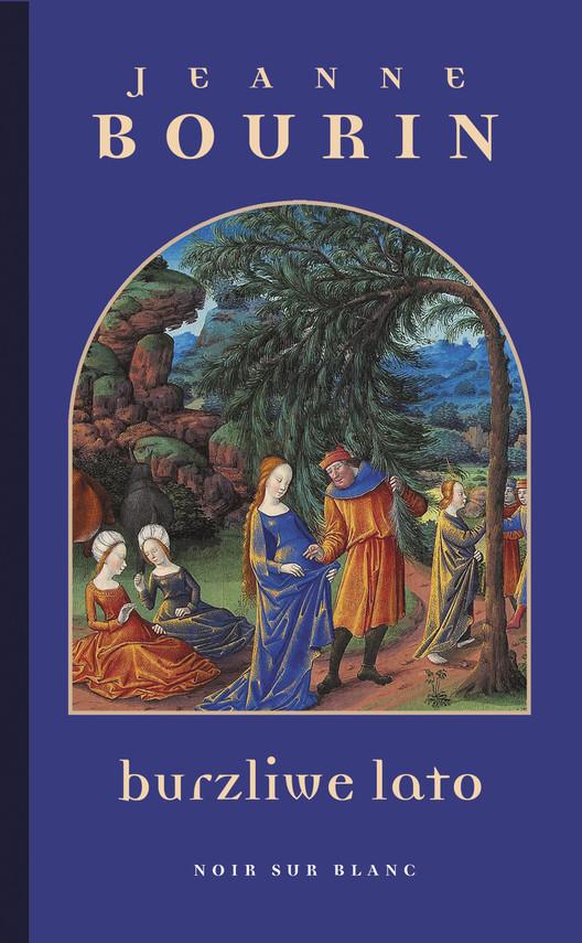 okładka Burzliwe lato, Ebook | Jeanne  Bourin