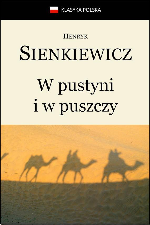 okładka W pustyni i w puszczy, Ebook   Henryk Sienkiewicz