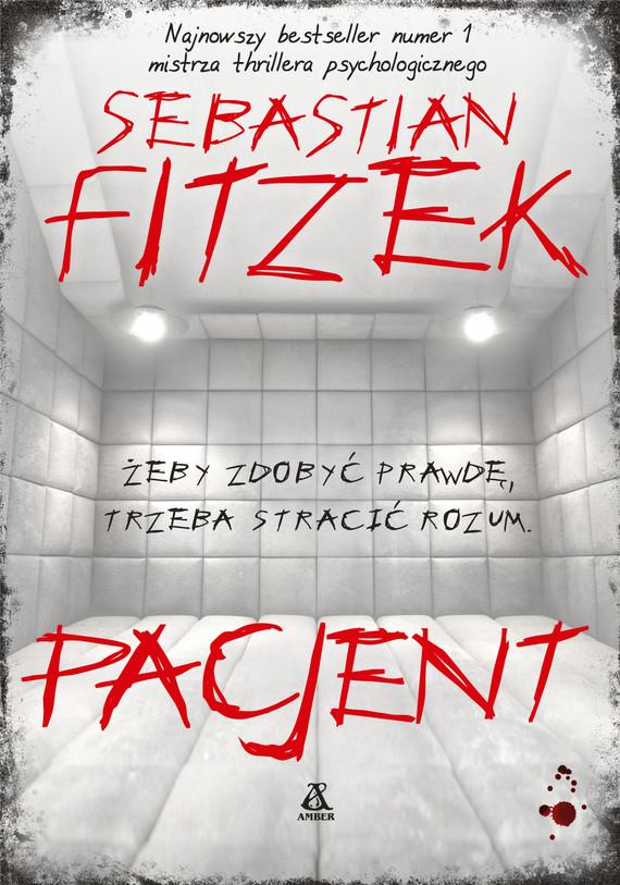 okładka Pacjentebook   epub, mobi   Sebastian Fitzek