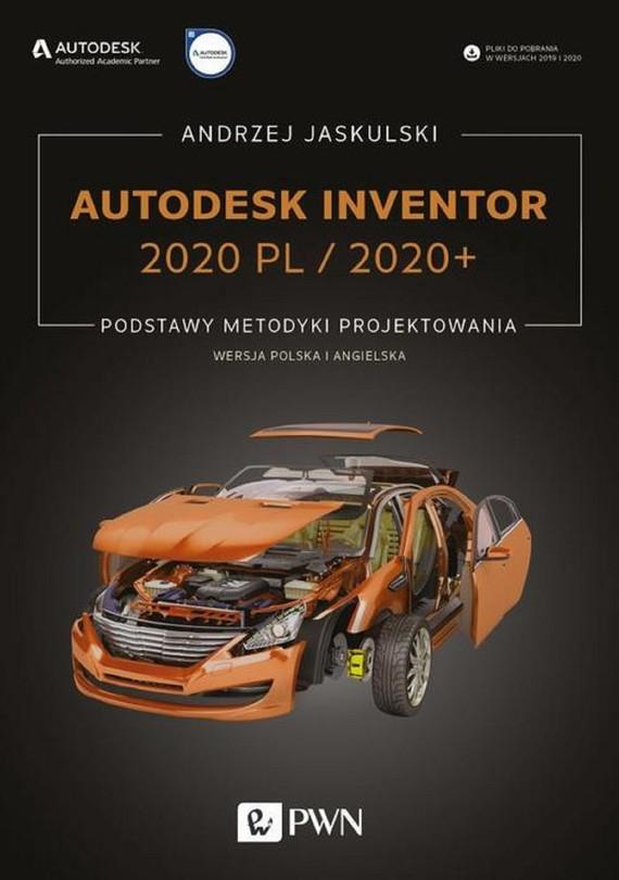 okładka Autodesk Inventor 2020 PL / 2020+, Ebook | Andrzej Jaskulski