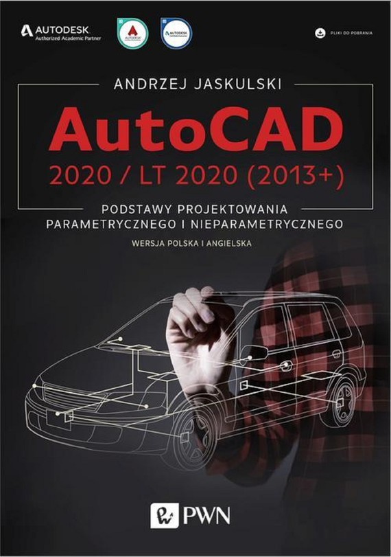 okładka AutoCAD 2020 / LT 2020 (2013+)ebook | pdf | Andrzej Jaskulski