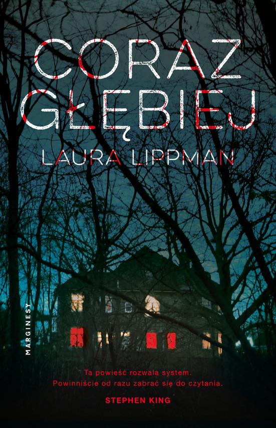 okładka Coraz głębiej, Ebook | Laura  Lippman