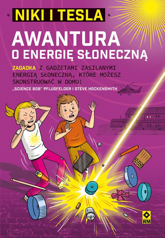 "okładka Niki iTesla. Awantura o energię słonecznąebook | epub, mobi | ""Science Bob"" Pflugfelder, Steve Hockensmith"
