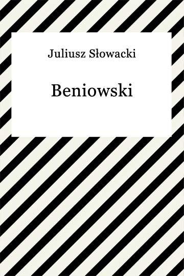 okładka Beniowski, Ebook | Juliusz Słowacki