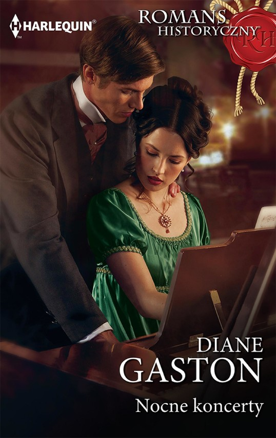 okładka Nocne koncerty, Ebook | Diane Gaston