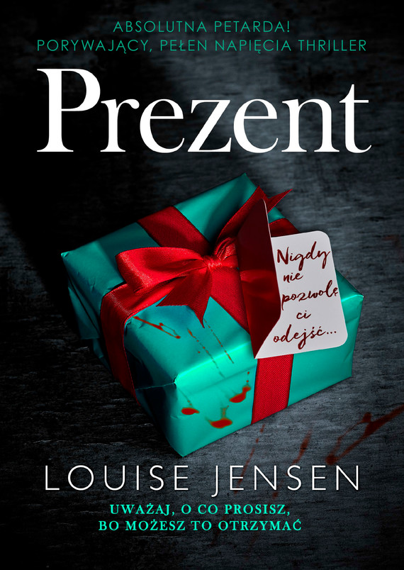 okładka Prezent, Ebook | Louise  Jensen