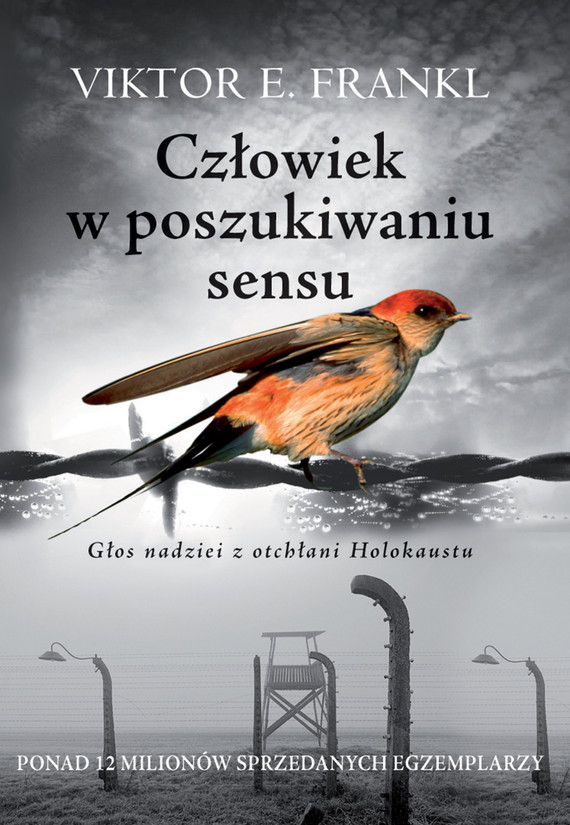 okładka Człowiek w poszukiwaniu sensu. Głos nadziei z otchłani Holokaustuebook | epub, mobi | Viktor E.  Frankl