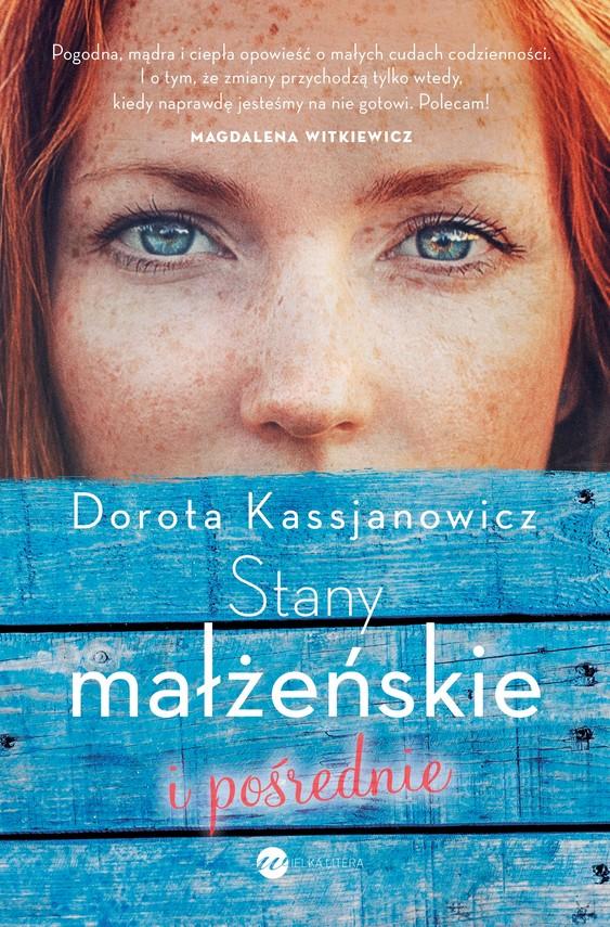 okładka Stany małżeńskie i pośrednie, Ebook | Kassjanowicz Dorota