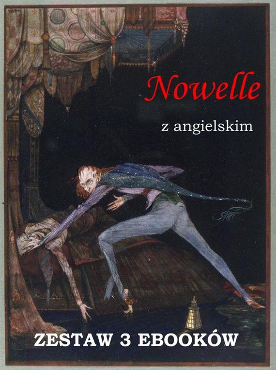 okładka Nowelle z angielskim. Zestaw 3 ebooków, Ebook   Edgar Allan Poe, Marta Owczarek, Arthur Conan Doyle