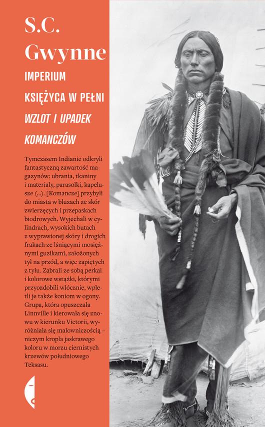okładka Imperium księżyca w pełni. Wzlot i upadek Komanczów, Ebook | S. C. Gwynne