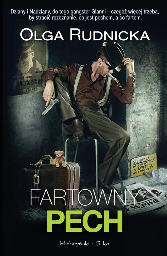 okładka Fartowny pech, Ebook | Olga Rudnicka
