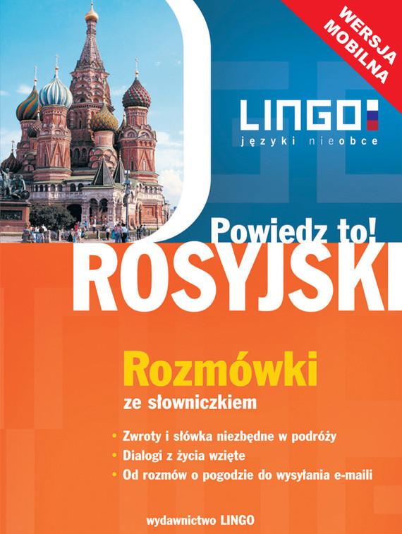 okładka Rosyjski.  Rozmówki ze słowniczkiem. Wersja mobilna, Ebook | Mirosław Zybert