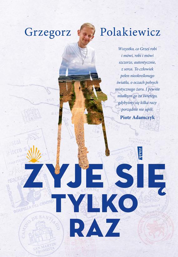 okładka Żyje się tylko razebook | epub, mobi | Grzegorz Polakiewicz