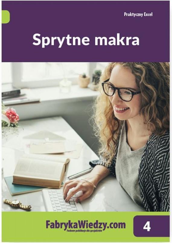 okładka Sprytne makra, Ebook | Piotr  Dynia, Katarzyna  Kaczanowska
