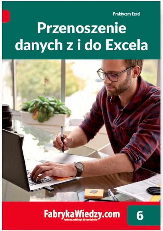 okładka Przenoszenie danych z i do Excela, Ebook | Piotr  Dynia, Krzysztof  Chojnacki