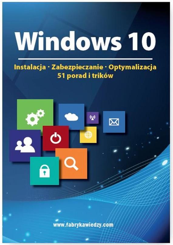 okładka Windows 10, Ebook | Praca zbiorowa