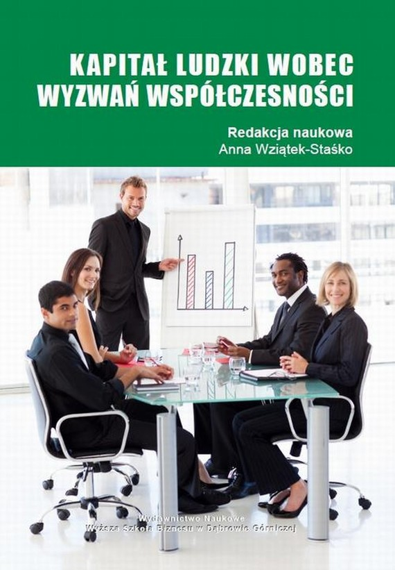 okładka Kapitał ludzki wobec wyzwań współczesności, Ebook | Anna  Wziątek-Staśko