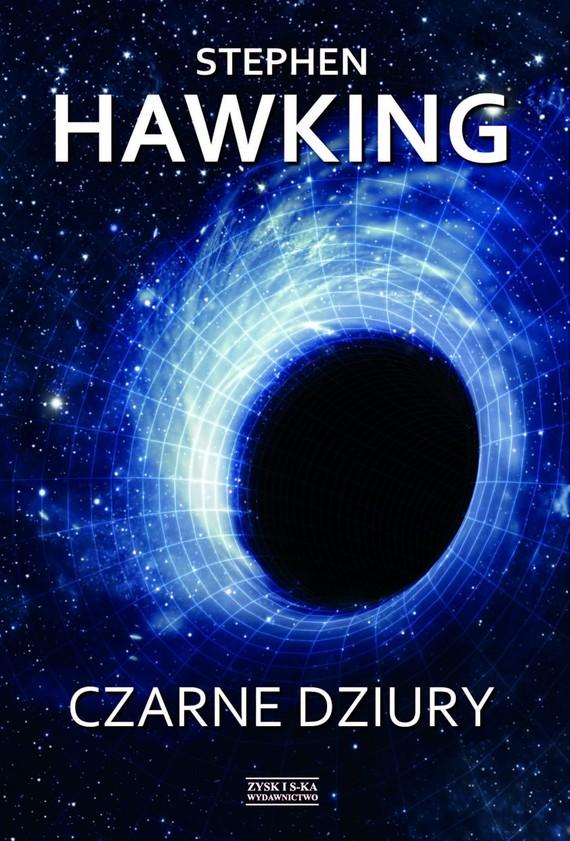 okładka Czarne dziury, Ebook   Stephen Hawking