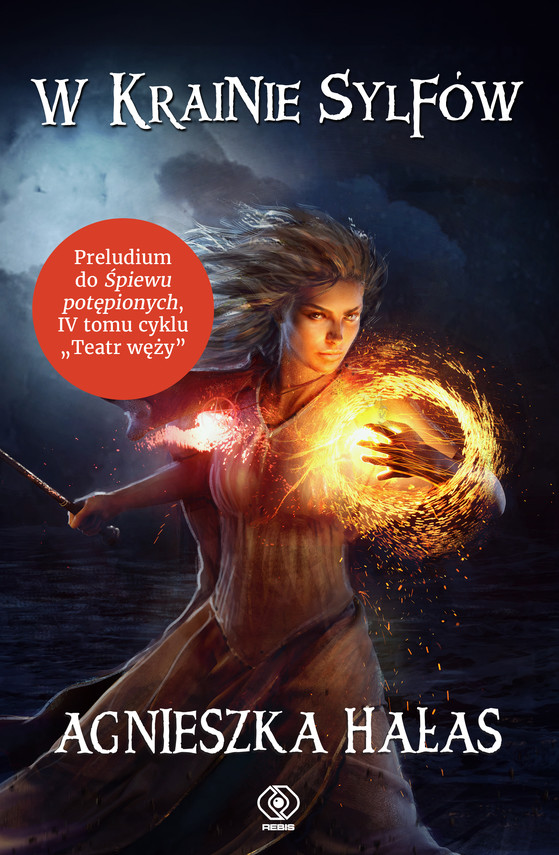 okładka W krainie sylfów, Ebook | Agnieszka Hałas