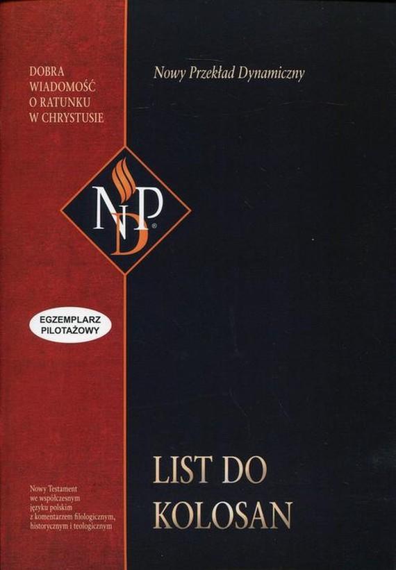 okładka List do Kolosan (NPD), Ebook | Praca zbiorowa