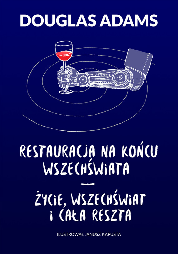 okładka Restauracja na końcu wszechświata. Życie, wszechświat i cała reszta, Ebook   Douglas Adams