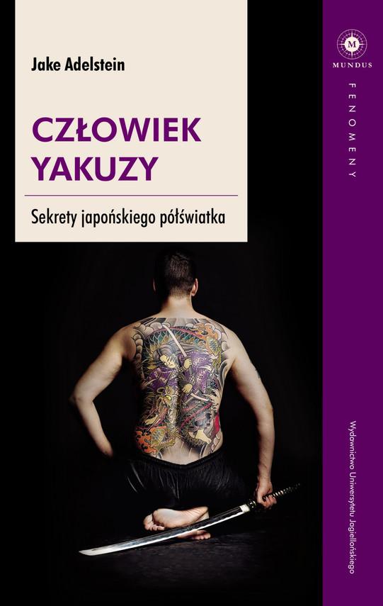 okładka Człowiek yakuzy, Ebook | Adelstein Jake