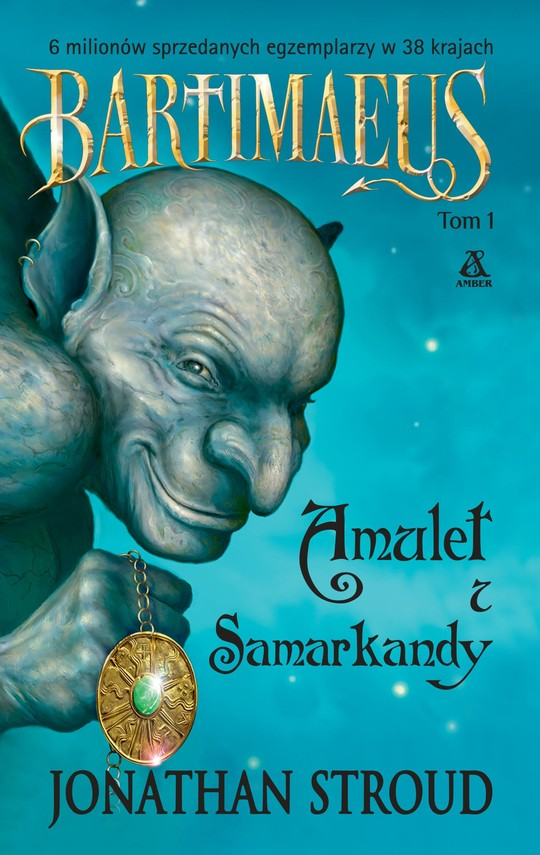 okładka Amulet z Samarkandy, Ebook | Jonathan Stroud