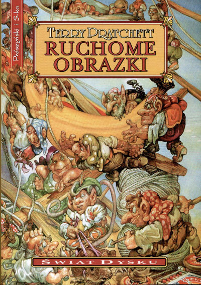 okładka Ruchome obrazkiebook | epub, mobi | Terry Pratchett