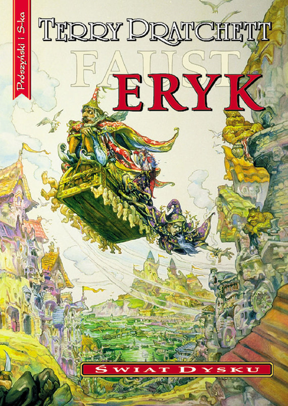okładka Eryk, Ebook | Terry Pratchett