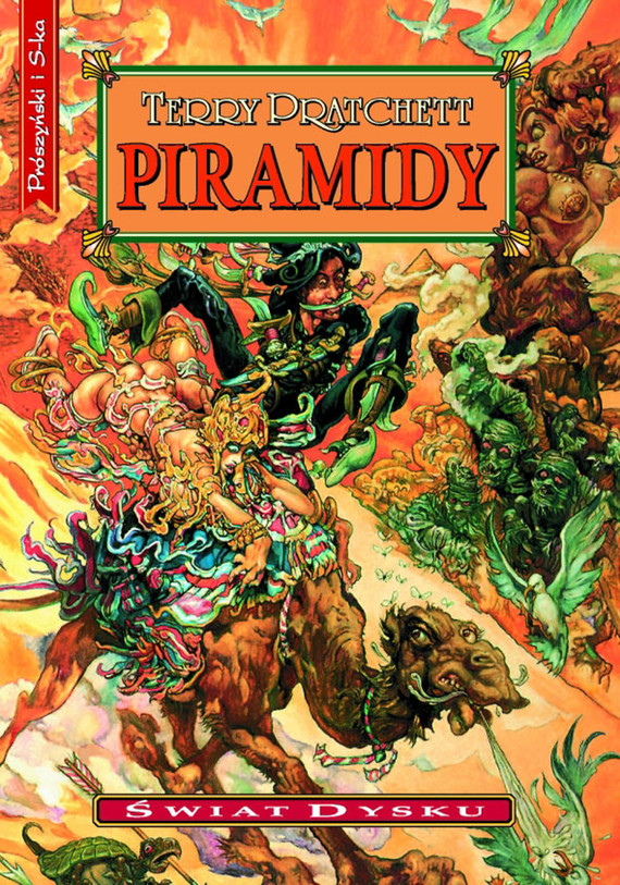 okładka Piramidy, Ebook | Terry Pratchett