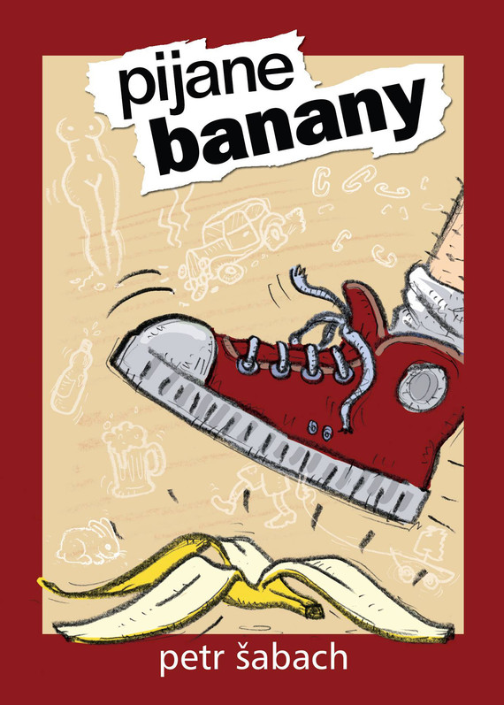 okładka Pijane banany, Ebook   Petr Šabach