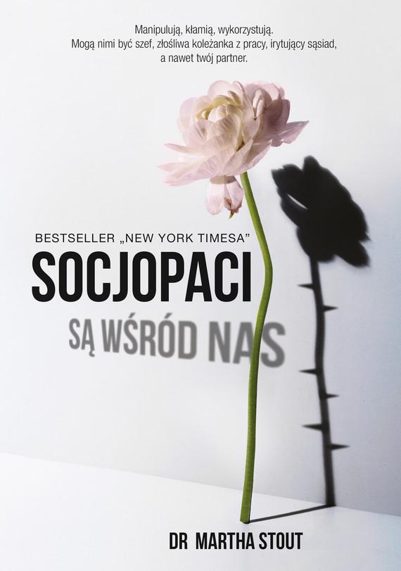 okładka Socjopaci są wśród nasebook   epub, mobi   dr Martha Stout