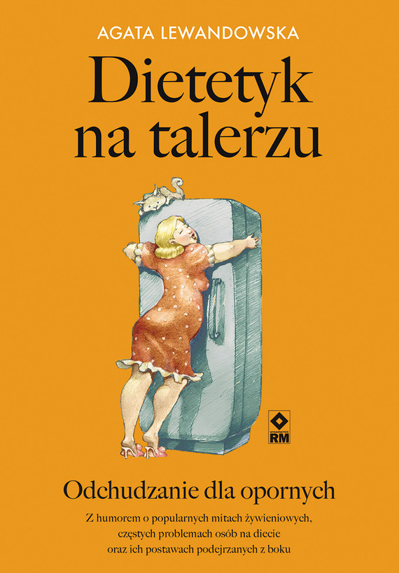 okładka Dietetyk na talerzu, Ebook   Agata Lewandowska