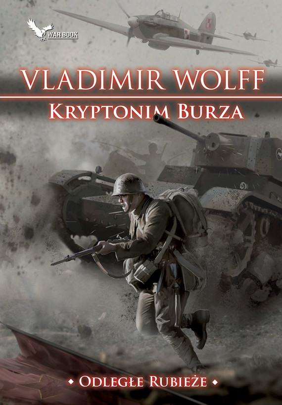 okładka Kryptonim burzaebook | epub, mobi | Vladimir Wolff