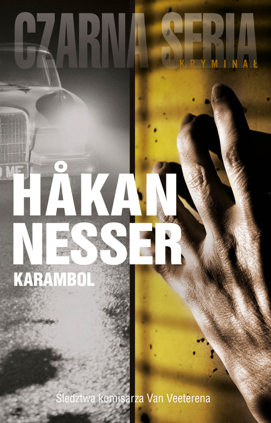 okładka Detektyw Van Veeteren (#7). Karambolebook | epub, mobi | Håkan Nesser