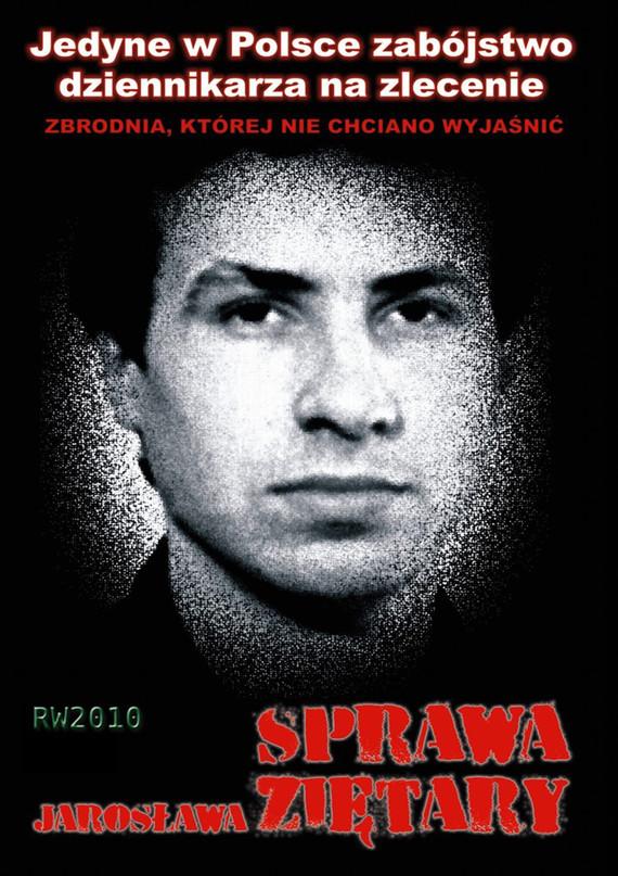 okładka Sprawa Jarosława Ziętary, Ebook   Krzysztof M. Kaźmierczak