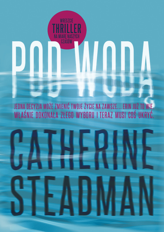 okładka Pod wodą, Ebook | Steadman Catherine