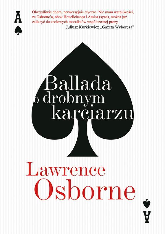 okładka Ballada o drobnym karciarzuebook | epub, mobi | Lawrence Osborne