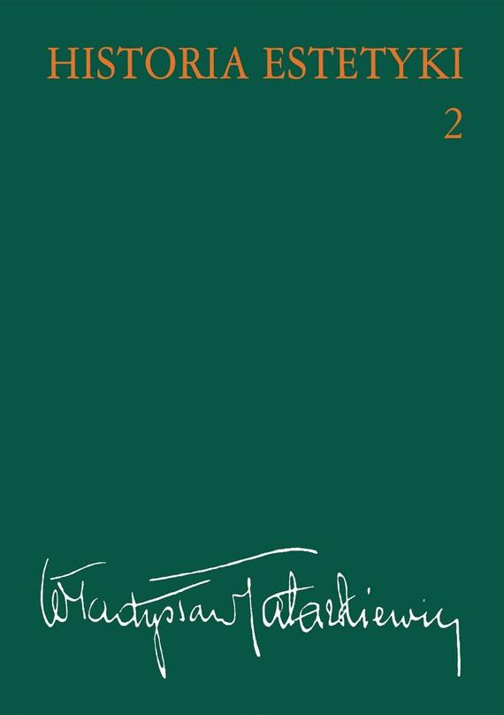 okładka Historia estetyki, t.2, Ebook   Władysław  Tatarkiewicz