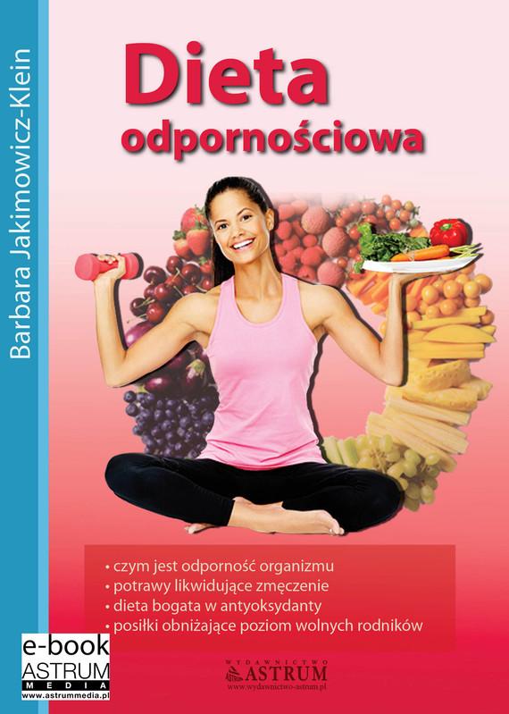 okładka Dieta odpornościowa, Ebook | Barbara Jakimowicz-Klein