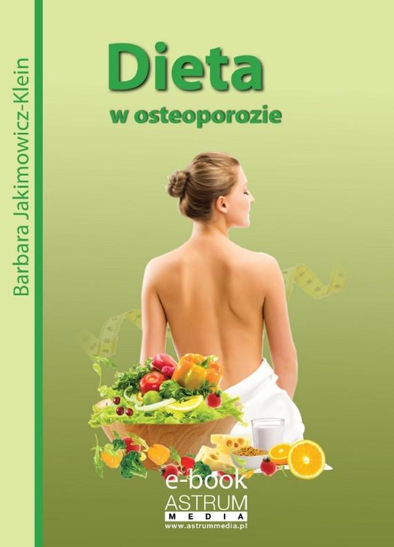 okładka Dieta w osteoporozieebook | pdf | Barbara Jakimowicz-Klein