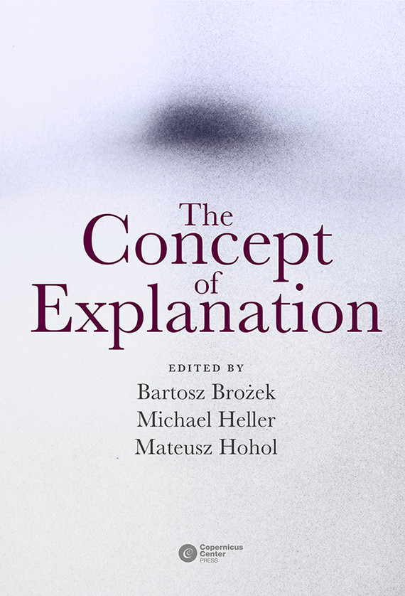 okładka The Concept of Explanation, Ebook |
