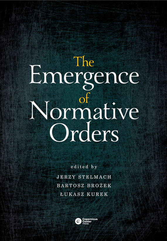 okładka The Emergence of Normative Orders, Ebook |