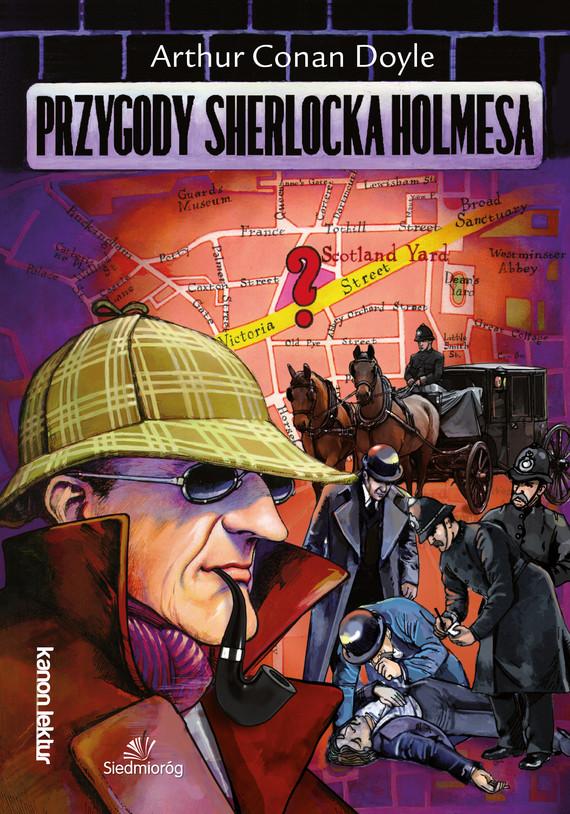 okładka Przygody Sherlocka Holmesaebook | epub, mobi | Conan Doyle Arthur