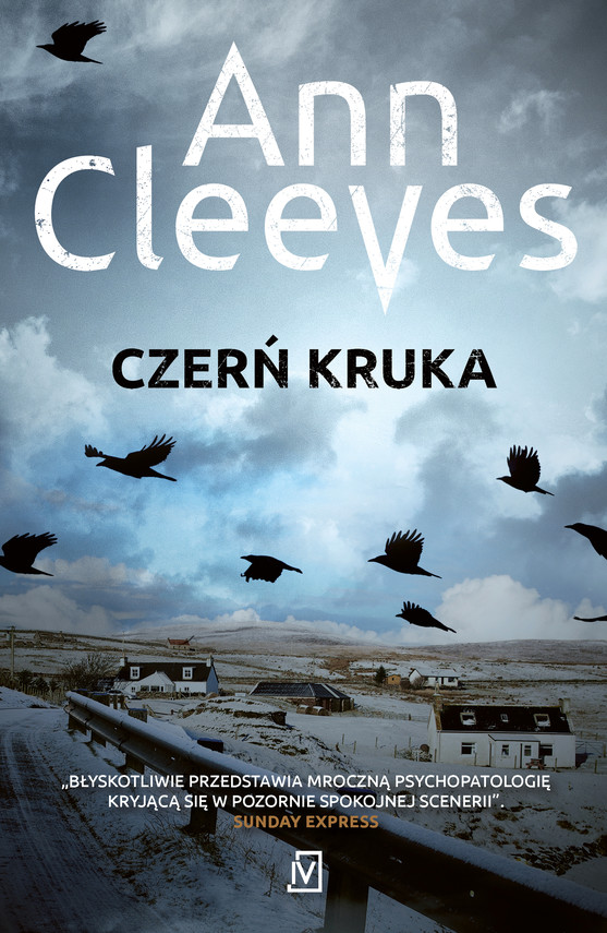 okładka Czerń krukaebook | epub, mobi | Ann Cleeves