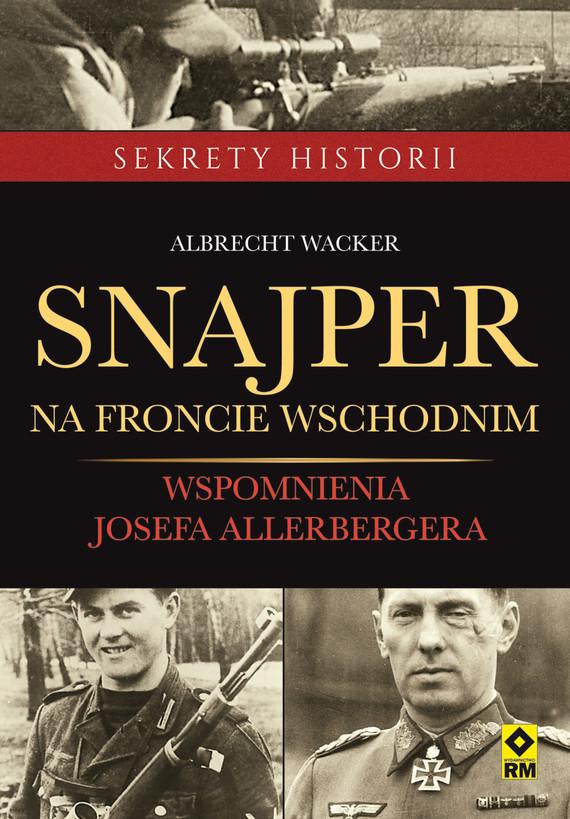 okładka Snajper na froncie wschodnimebook   epub, mobi   Albrecht Wacker