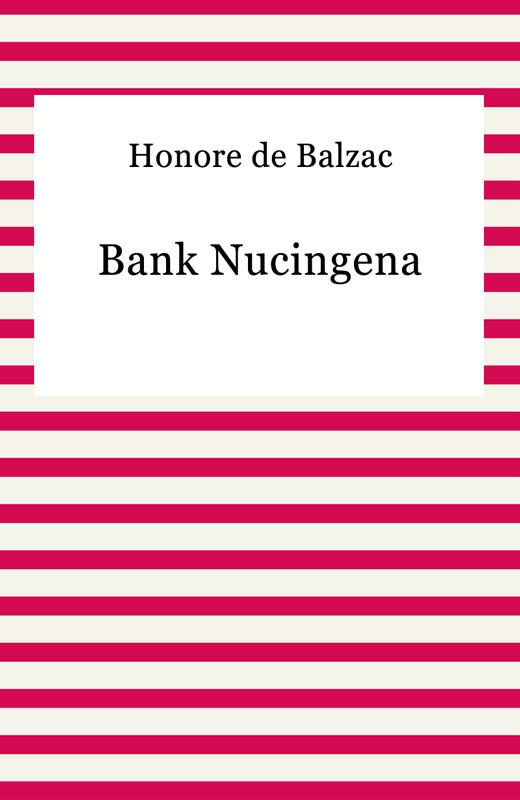okładka Bank Nucingena, Ebook | Honore De Balzac