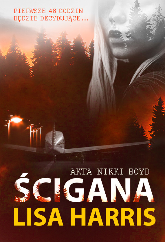 okładka Ścigana, Ebook | Lisa Harris