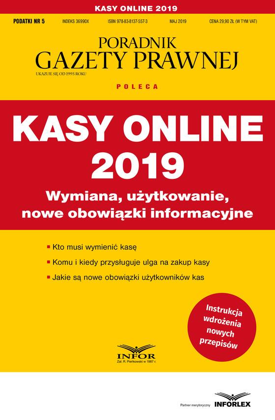 okładka Kasy online 2019ebook | pdf | praca  zbiorowa
